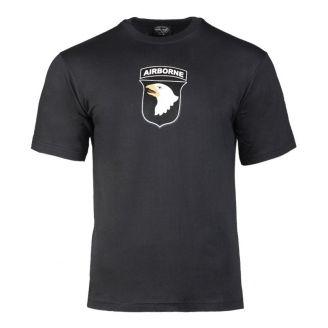 Mil-Tec 101st Airborne T-Paita Musta