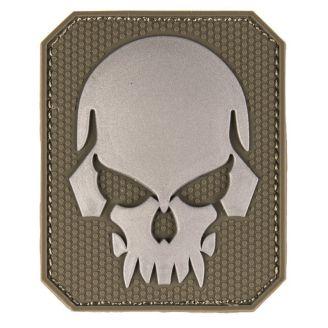 Mil-Tec 3D Merkki Skull Velcro Olive