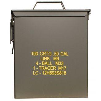 Mil-Tec US M2A1 50 .Cal Ammo Box Large