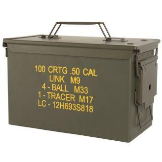 Mil-Tec US M2A1 50 .Cal Ammo Box Steel