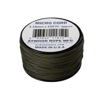 Atwood Rope MFG Micro Cord 125ft