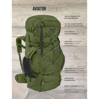 Brandit Aviator Rucksack 100L Olive