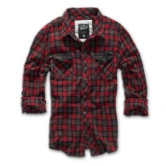 Brandit Checkshirt Duncan Kauluspaita Ruutu