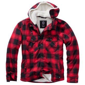 Brandit Lumberjacket Hupulla Red/Black