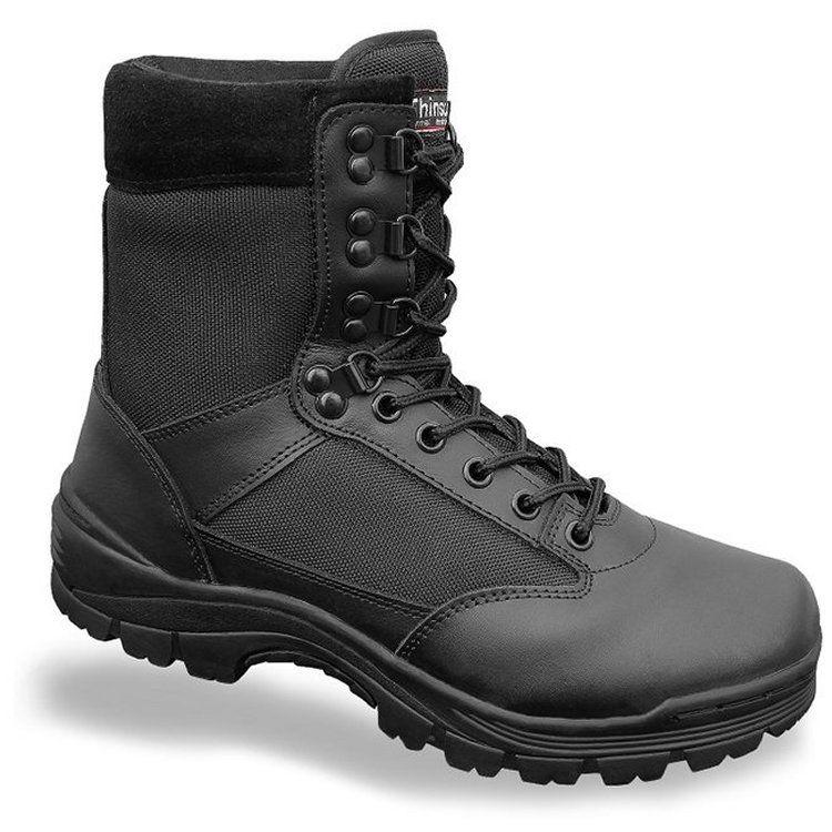 Chaussures Brandit Zipper Tactical Noir noir 47 QEaIZD1pb
