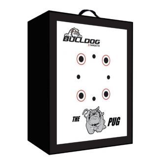 Bulldog Targets Doghouse PUG PLUS