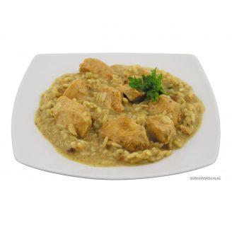 MFH Säilyke Currykanaa Riisillä 400g