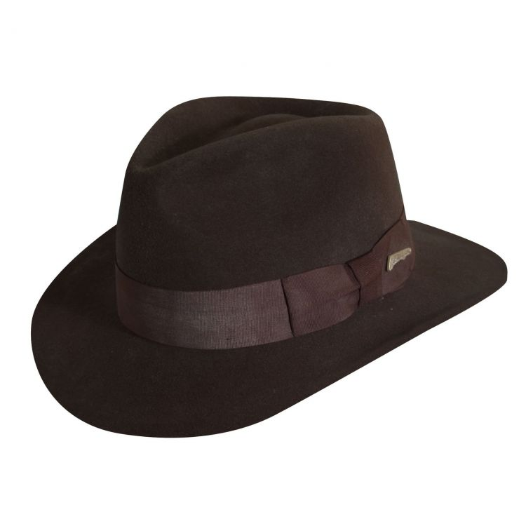 DPC Indiana Jones IF559 Fedora Hat - Mökkimies.com eec10f921be0