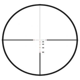 Excalibur Tact-Zone Kiikaritähtäin 2.5-6x32