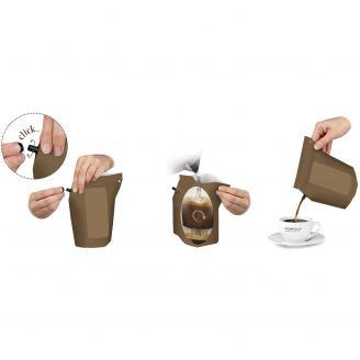 Growers Cup Kahvia Retkipussissa