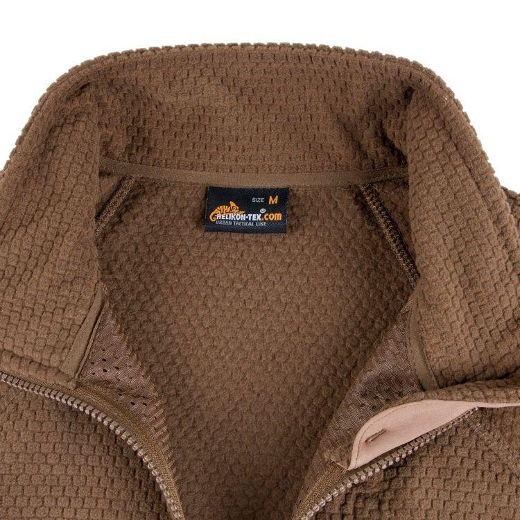 Helikon Tex Alpha Grid Fleece Jacket Coyote M 246 Kkimies Com