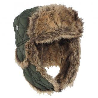 Mil-Tec Faux Fur Hat Olive