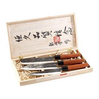Kitchen Knife Set Forged Japan Style