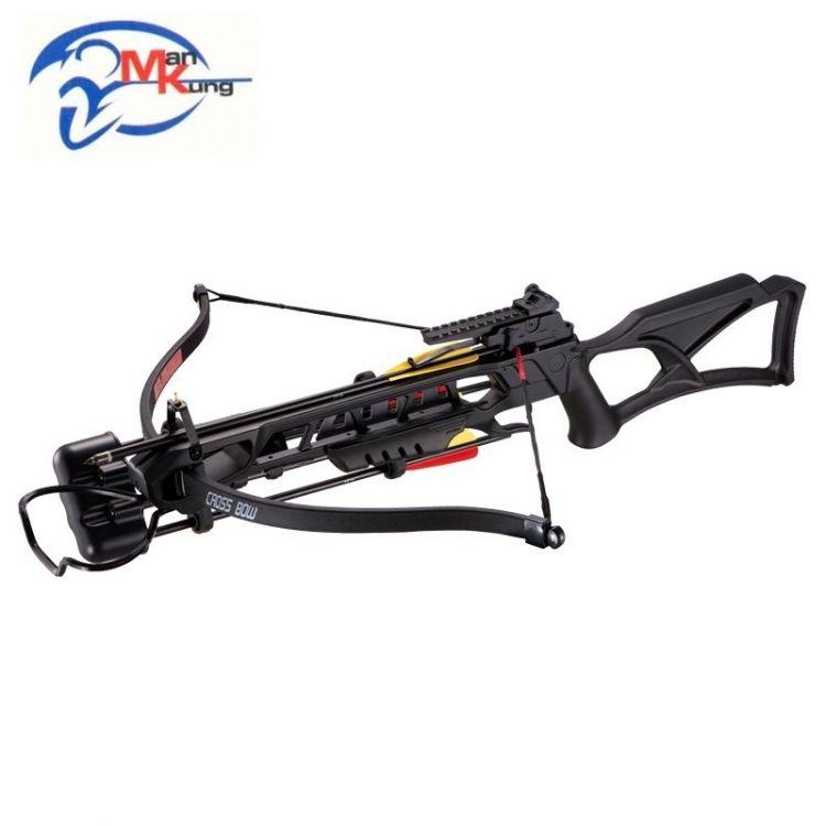 Man Kung Recurve Crossbow XB23 175lbs Black - Mökkimies com