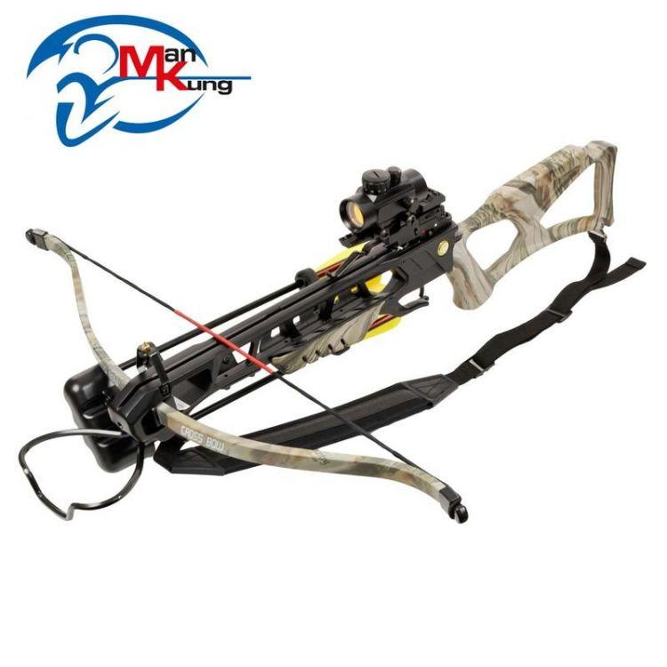 Man Kung Recurve Crossbow XB23 175lbs Camo - Mökkimies com