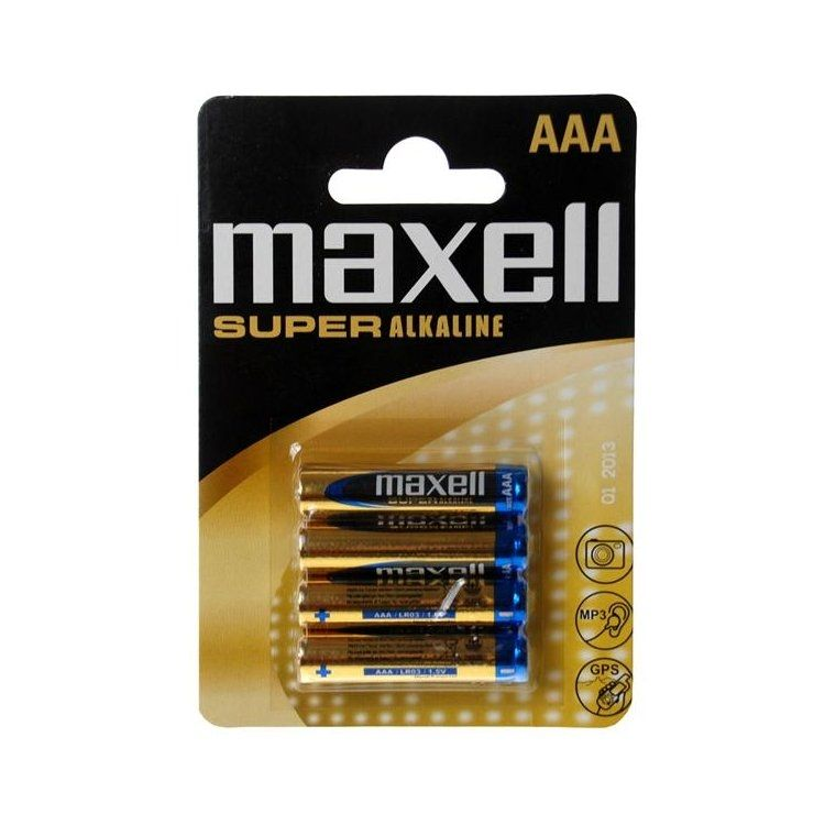 Maxell Super Alkaline Batteries - Mökkimies.com