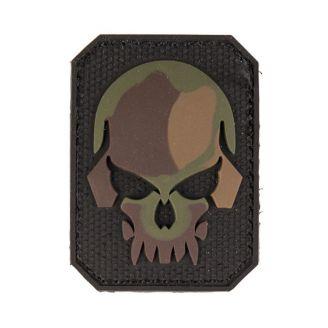 Mil-Tec 3D Merkki Camo Skull Velcro