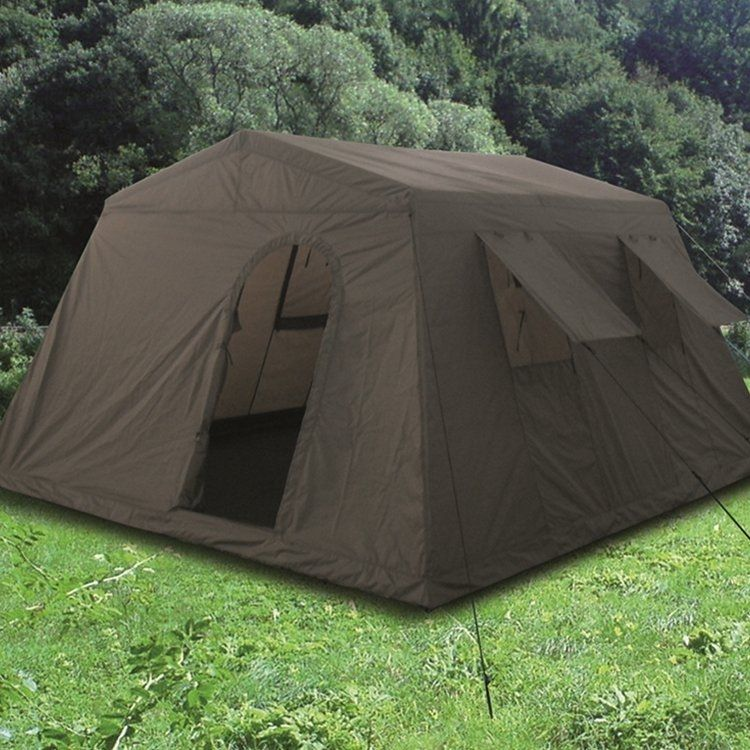 Mil-Tec Large tent for 6 person Olive & Mil-Tec Large tent for 6 person Olive - Mökkimies.com