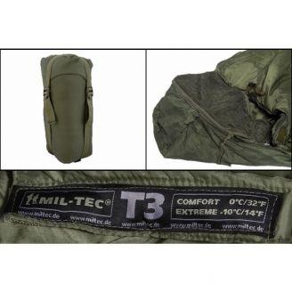 Mil-Tec Makuupussi Tactical T3 Vihreä