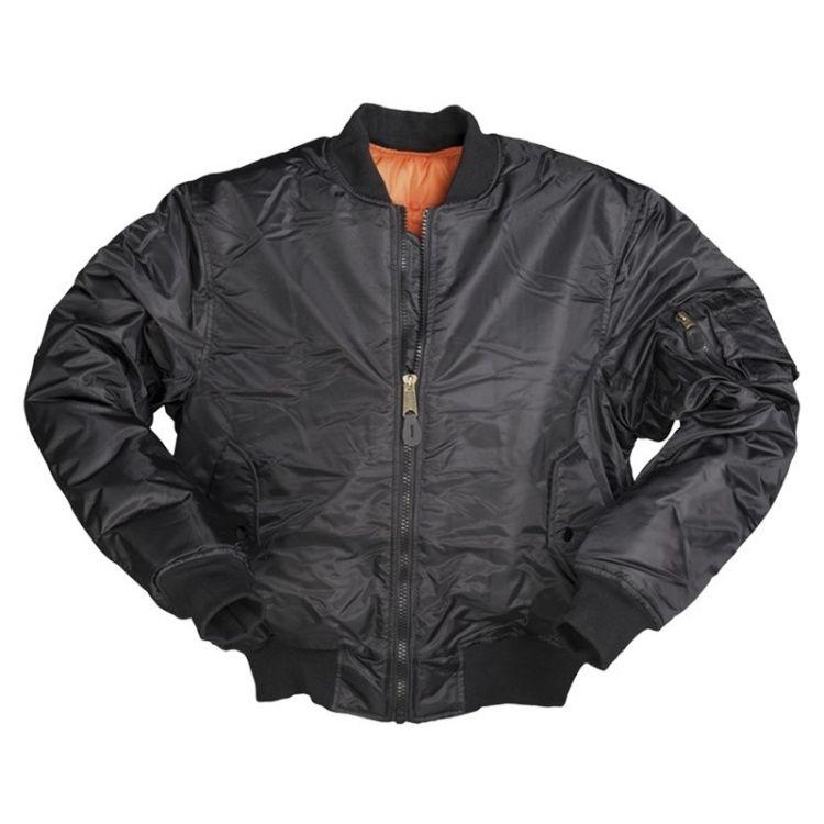 Mil-Tec US Flight Jacket MA1 Style Black