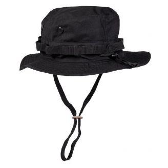 Mil-Tec US Black GI Boonie Hat Black