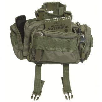 Mil-Tec Mod System Belt Bag Olive Green