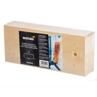 Mustang Loimu Spruce Plank for Plank Grilling 3pcs