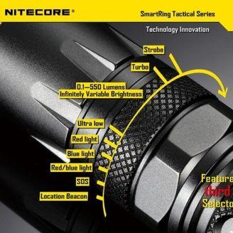 Nitecore SRT 3 Defender Taskulamppu