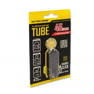 Nitecore Tube Musta