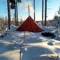 NorTent Lavvo 4 Hot Tent Kotateltta 1.9kg