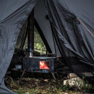 NorTent Titanium Tent Stove w/ Windows
