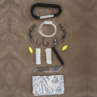 Mil-Tec Paracord Survival Kit Small Olive
