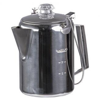 Mil-Tec Perkolaattori Kahvinkeitin Ruostumaton