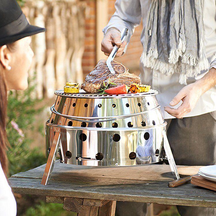 Petromax Atago Outdoor Grill Fire Bowl Folding