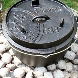 Petromax Dutch Oven Cast Iron Pot 8.0L Flat Base