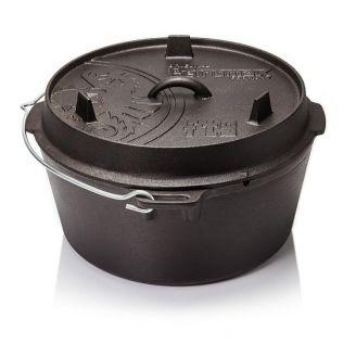 Petromax Dutch Oven Valurautapata 8.0L Tasapohjainen
