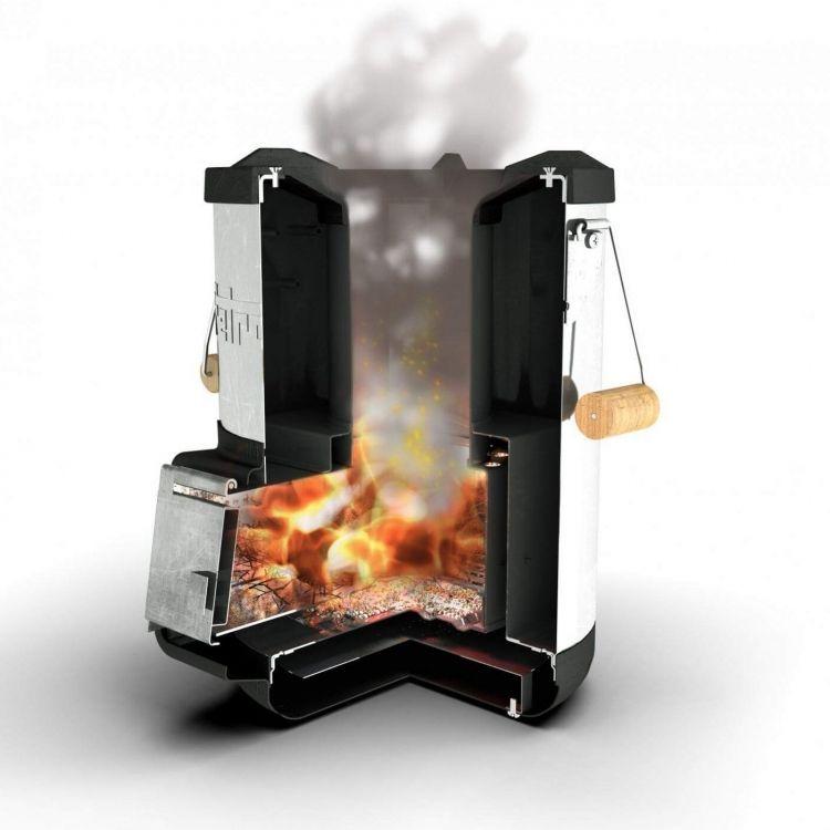Ghillie Kettle Maverick 0.5 Litre Hard Anodised Camping Stove Wood Burner BBQ
