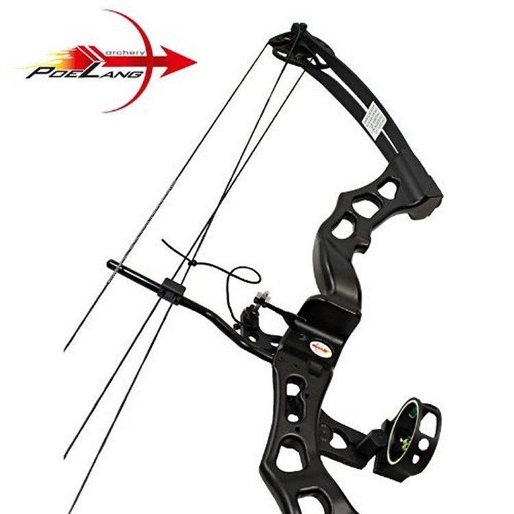 Poe lang predator iii combound bow 32 65lbs rh black for Schlafsofa 2 m lang