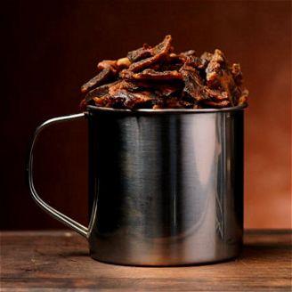 Porky Smokey BBQ Kotimainen Possu Jerky