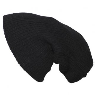 Pro Company Extra Long Knitted Beanie Black