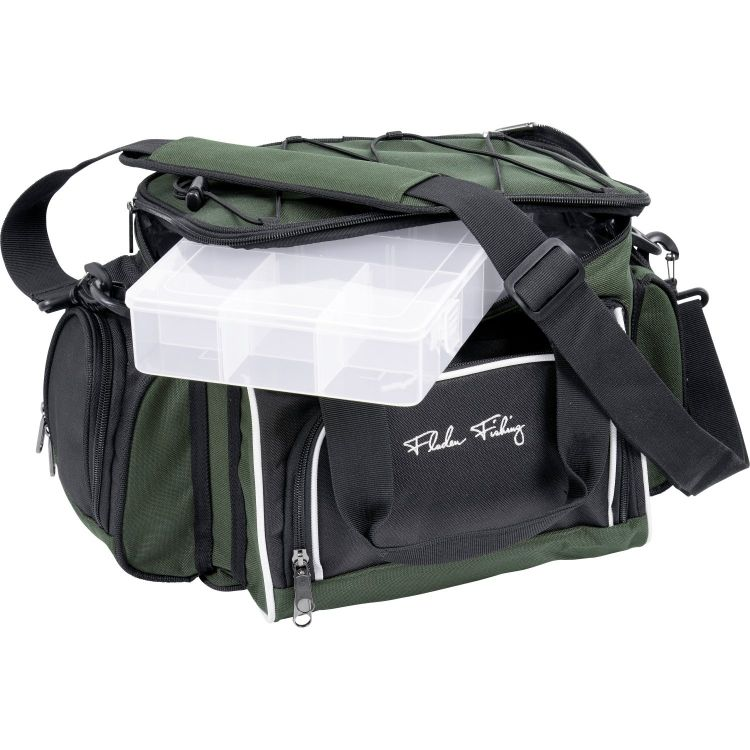 Fladen Signature Fishing Bag + 4 Lure Boxes