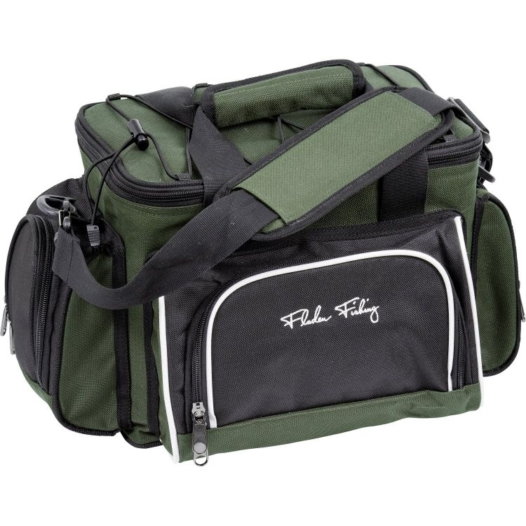 Fladen Signature Fishing Bag + 4 Lure Boxes Mö