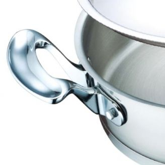 Line 24cm stainless steel fry pan with steel lid m 246 kkimies com