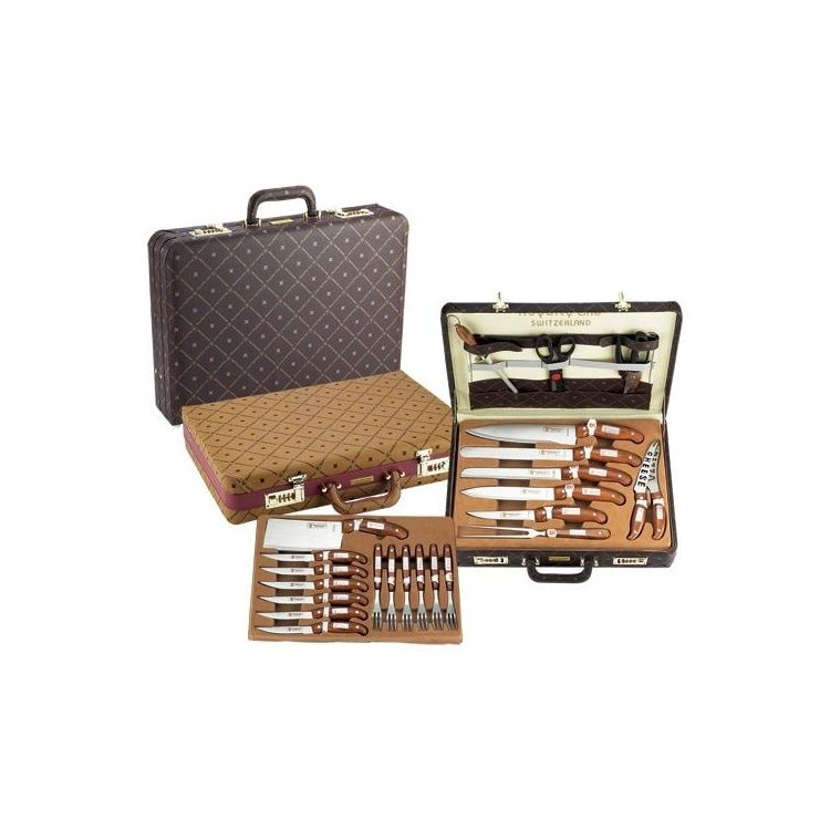royalty line set  Royalty Line Knife Set 25pcs with Leather Case - Mökkimies.com