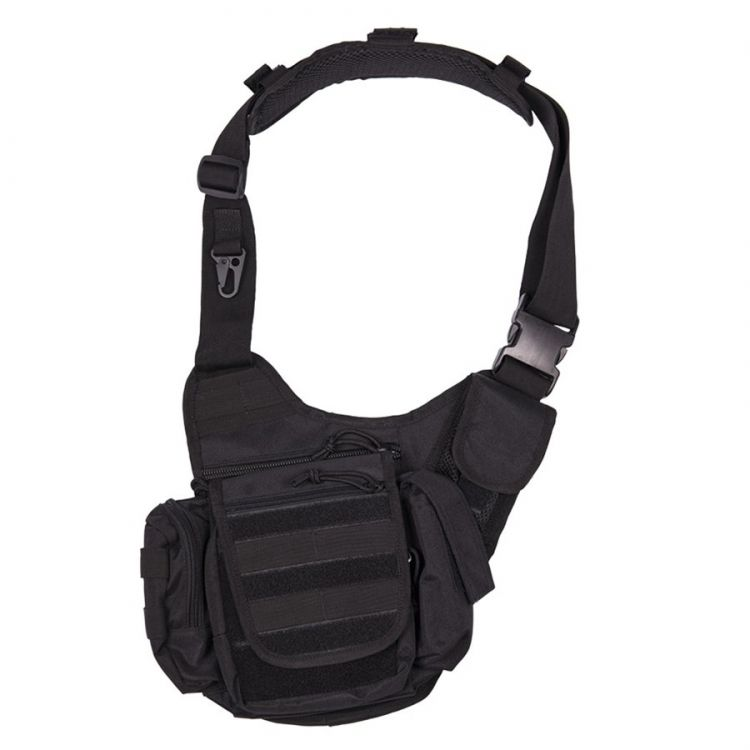 Puma Olkalaukku Musta : Mil tec sling bag black m?kkimies