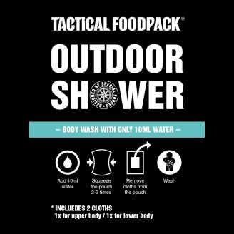 Tactical Foodpack Outdoor Shower