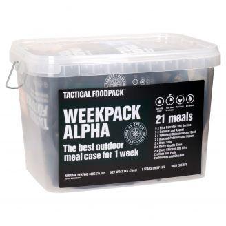 Tactical  Foodpack Week Pack Alpha