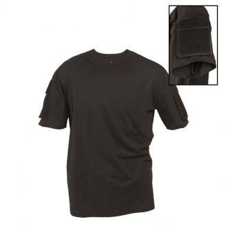 Mil-Tec Tactical T-Paita Musta