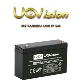 Uovision Trail Camera Battery 6V 12Ah