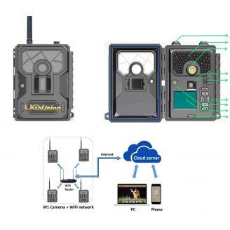 Uovision HomeGuard Wifi 12MP Full HD Valvontakamera